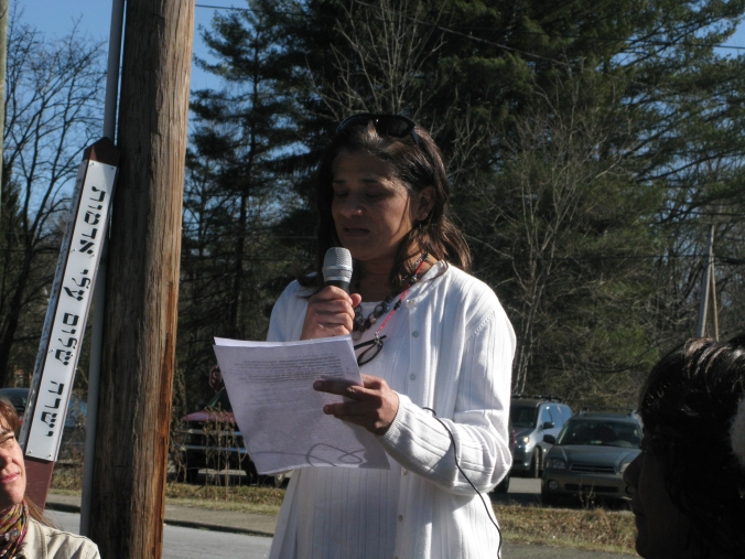 Peace Pole Dedication ceremony
